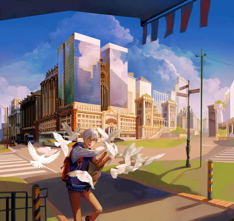 Attack on bread by Taro-K