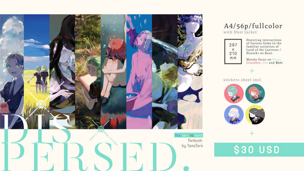 Our Houseki no Kuni Fanbook PRE-ORDER by Taro-K