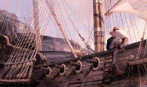 Commission: Setting sail