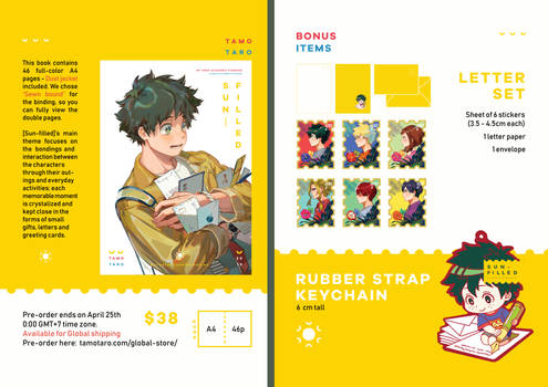 My Hero Academia fanbook set [Sun-filled]