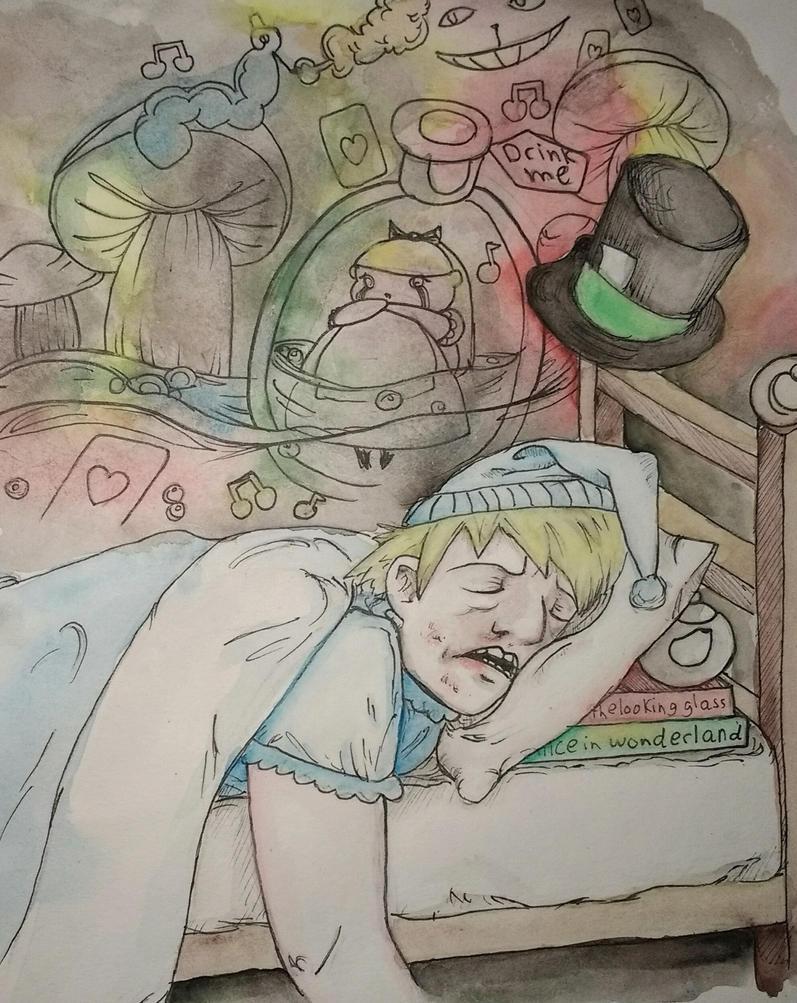The dreams of Jervis Tetch by CheshyFreshy