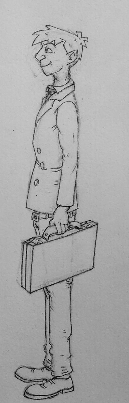 Professor Crane by CheshyFreshy