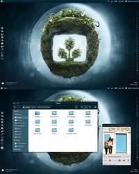 Desktopography 2010 by pabloferz
