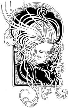Art Nouveau Anna