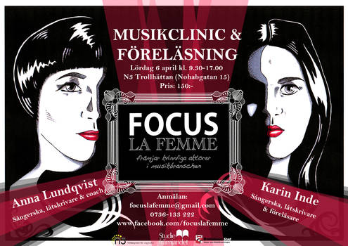 Focus La Femme Poster