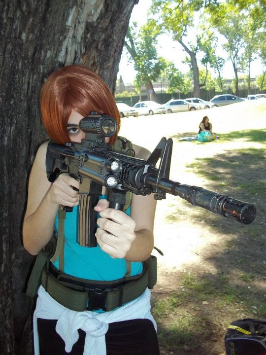 cosplay jill valentine resident evil 3 by danycamaleon