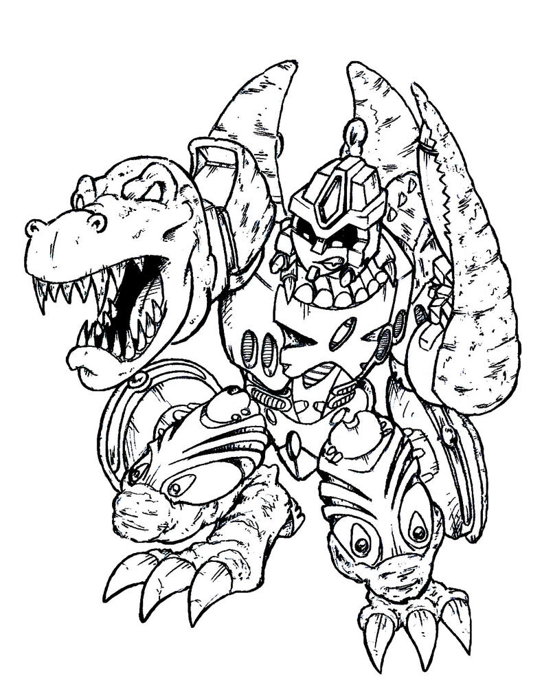 Beast wars megatron by smackybean on deviantart for Transformers coloring pages megatron