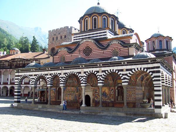Rila Monastery by Gl00myRubix