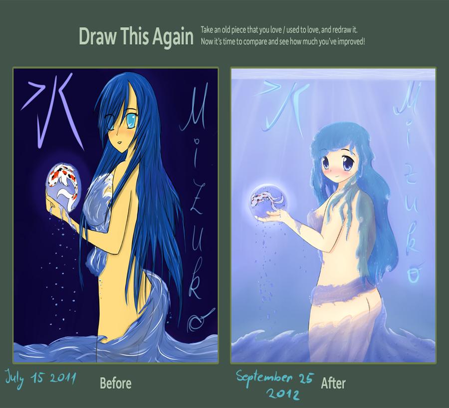Draw this again challange [ Mizuko ] by MyC-chan