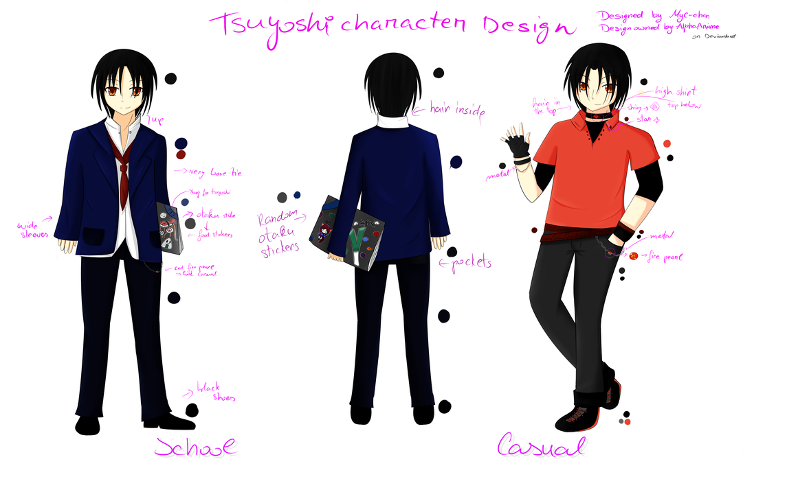 Jason Chan Character Design Download : Character design tsuyoshi for alphaanime by myc chan on