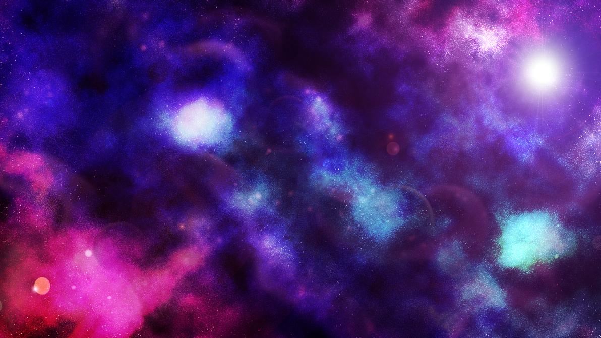 purple nebula wallpaper by mycchan on deviantart