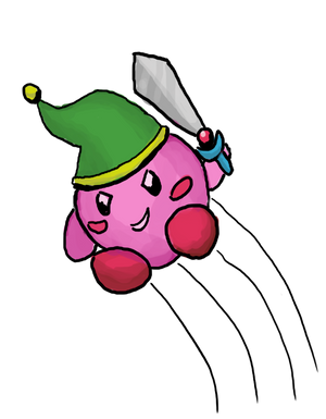 Kirby by Cosmos-Centric