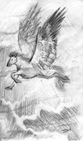 Work Sketch 6 by JoJoBynxFwee