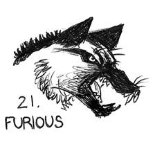 Inktober 21 - Furious by JoJoBynxFwee