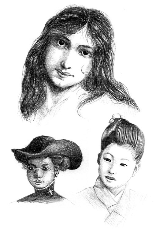 Historical Portrait Practice by JoJoBynxFwee