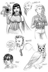 Ancient Guardians NPCs 1 by JoJoBynxFwee