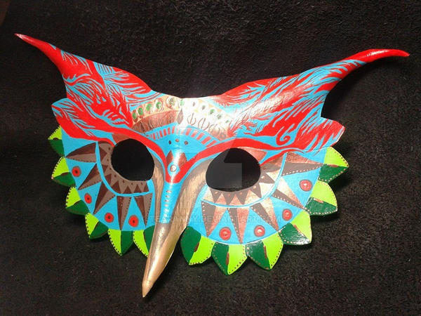 Owl Mask - 01 by Tearanny
