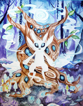Ori and the Blind Forest Watercolor