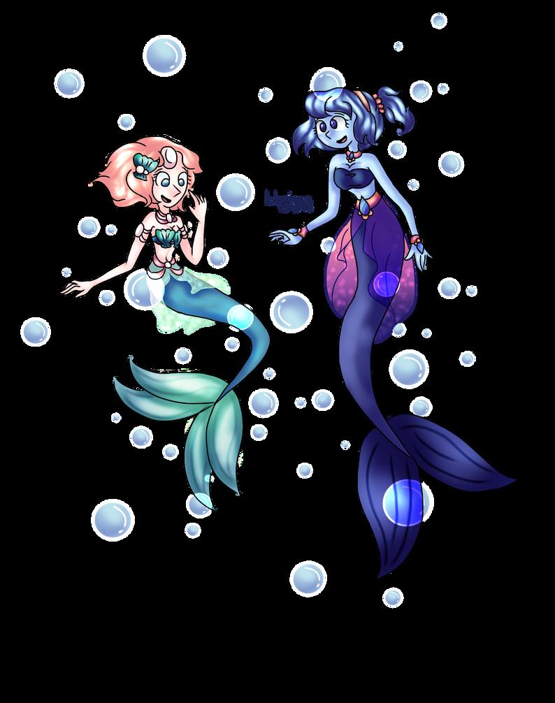 Hallowgems - Mermaids by BrineGirl43
