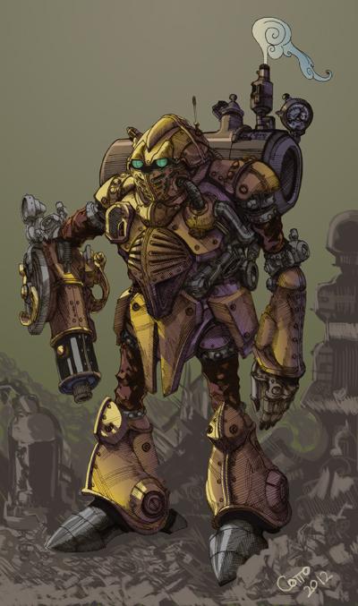 Robo Re-do by RadicalDreamerX