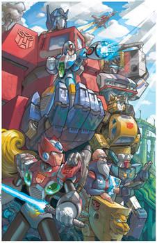 Megaman X Transformers (Heroes)