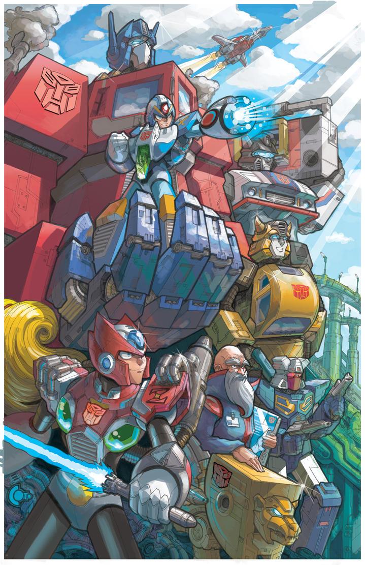 Megaman X Transformers (Heroes) by RadicalDreamerX