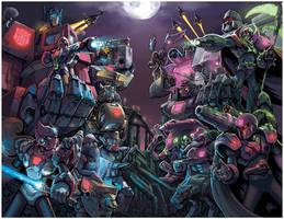 Megaman X Transformers Unite by RadicalDreamerX