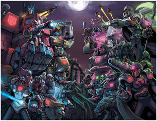Megaman X Transformers Unite by RadicalDreamerX