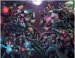 Megaman X Transformers Unite