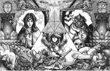 The Original Legend Inks by RadicalDreamerX