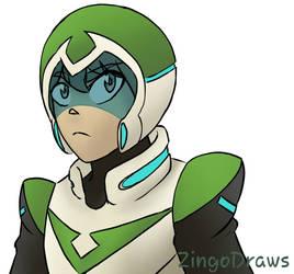 Green Birb child by ZingoDraws