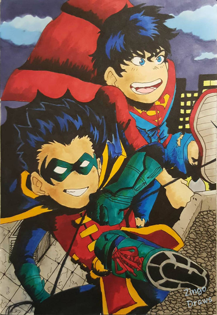 Super Sons! by ZingoDraws