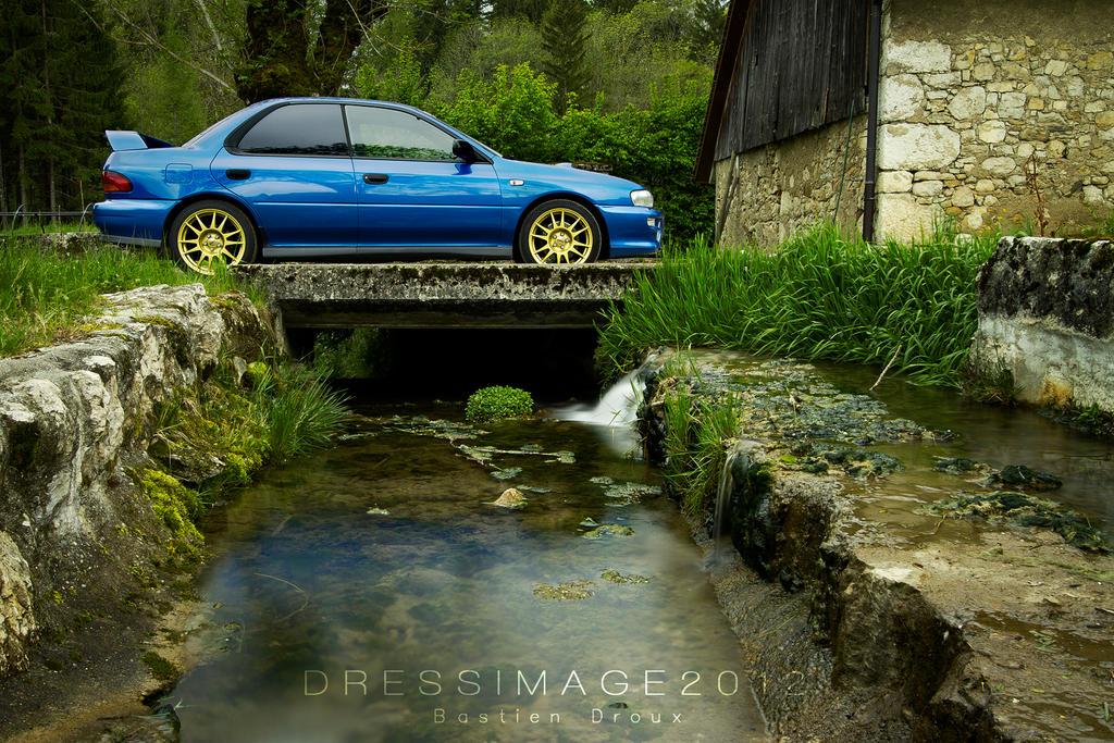 Subaru impreza GT by dres2x
