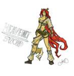 Heavenly Sword Girl Cartoonie