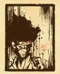 Afro Samuri