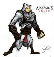 Assassins Creed Guy by wallmasterr