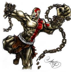 God of War by wallmasterr