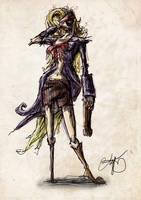 pirate woman by wallmasterr