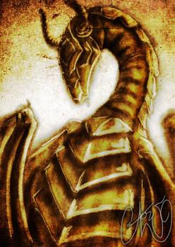 Dragon by wallmasterr