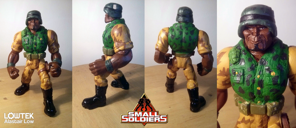 Butch Meathook custom small soldiers by wallmasterr
