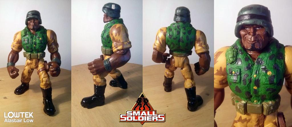 Butch Meathook custom small soldiers by wallmasterr