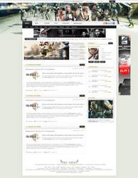 Final Fantasy XIII Webdesign by Renjir0