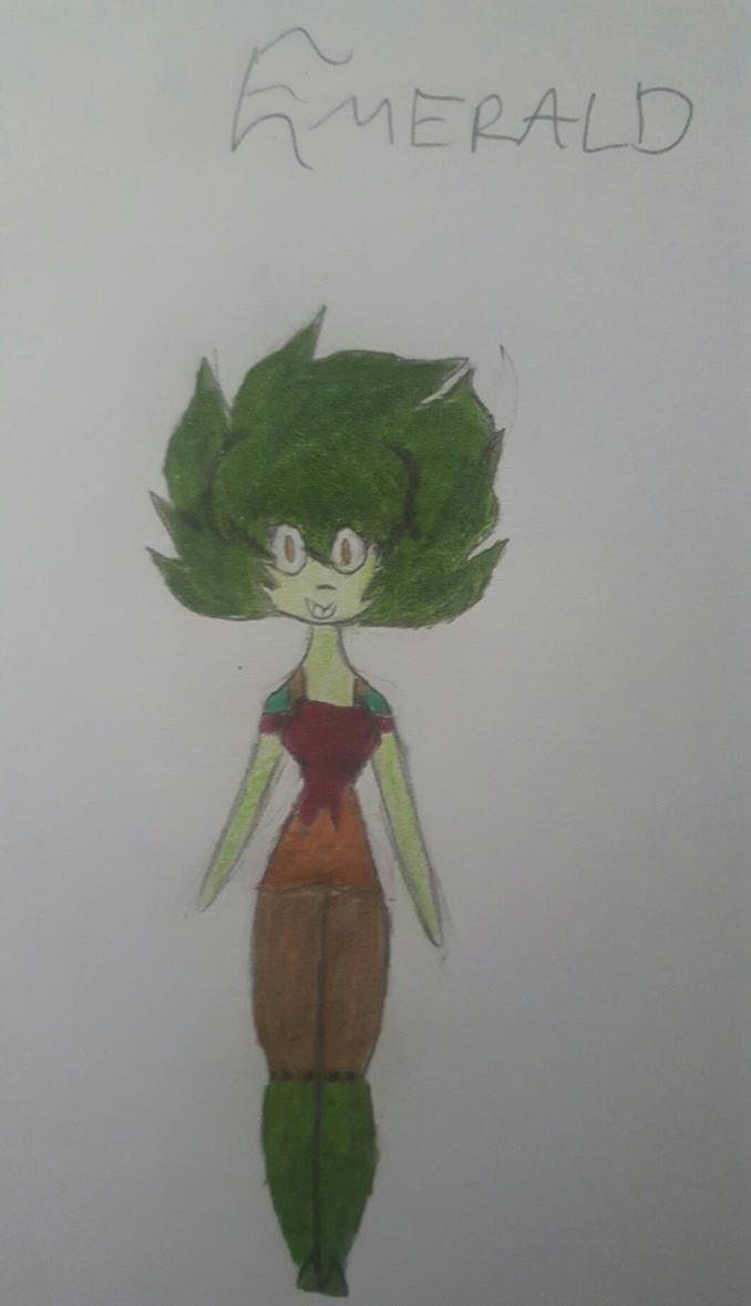 .:OC:. Emerald by BonnieVsBonbon