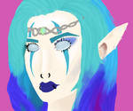 Goth Elf Girl
