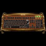 Steampunk Keyboard V7