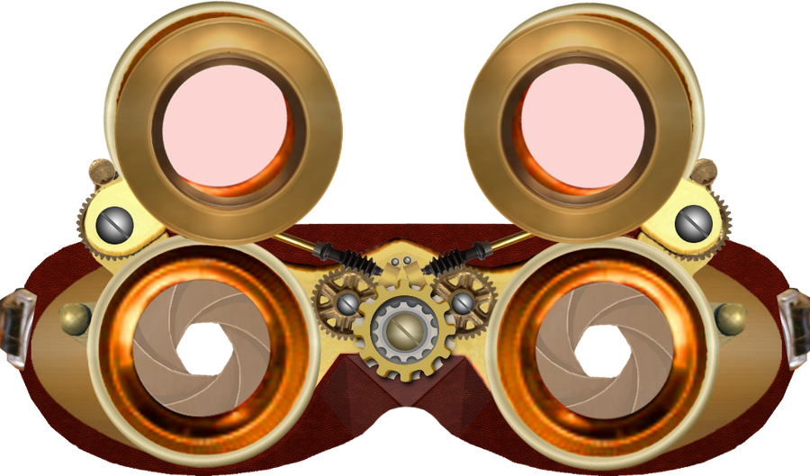 Steampunk Goggles Final By Pendragon1966 On Deviantart