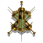 Steampunk Antivirus Icon Mk 4