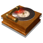 Steampunk CD DVD Burner Icon Mk2