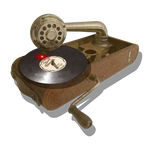 Steampunk Victorian USB CD DVD Reader-Writer Icon