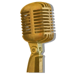 Steampunk Microphone Icon V2